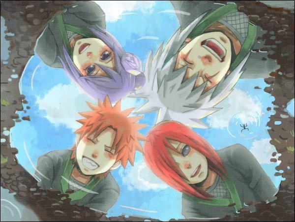 Naruto rencontre jiraya