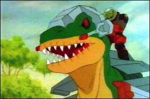 On se souvient plus des jouets à l'effigie des dinosaures lourdement armés que de la série de Marvel. Quel est le titre de ce dessin animé qui n'a compté que treize épisodes ?