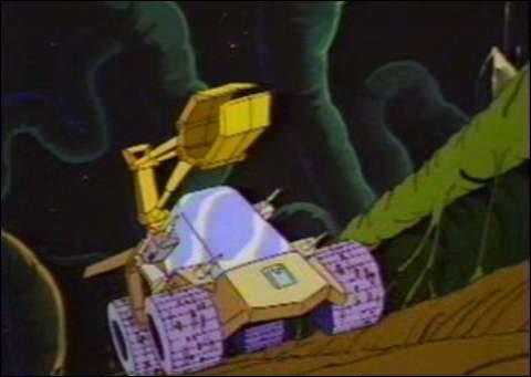 Pour combattre, les héros sont munis de véhicules spécifiques à chacun. Quel est le nom de celui de Jayce ?