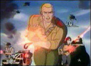 Quel est le nom de ce dessin animé, réalisé pour vendre une énorme gamme de jouets cette fois dans un univers militaire, arrivé en 1987 sur TF1 ?