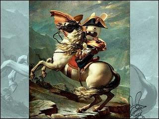 Napoléon criait-il lorsqu'il avait un cheval ?