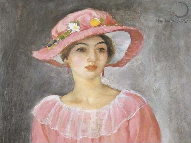 Qui a peint 'Le chapeau rose' ?