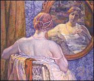Qui a peint 'Femme au collier rose' ?