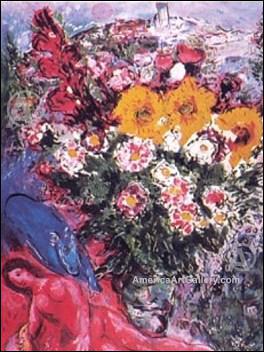 Qui a peint 'Nu rose avec fleurs' ?