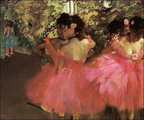 Qui a peint 'Danseuses en rose' ?