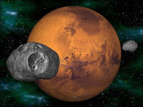 Combien Mars a-t-elle de satellites naturels ?