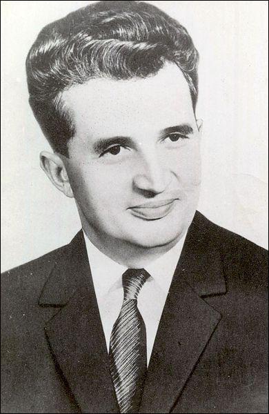 Quel est ce dirigeant de la Roumanie communiste qui fut tué en 1989