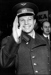 Quel est ce Soviétique cosmonaute, personnage historique qui fut le premier homme dans l'espace ?