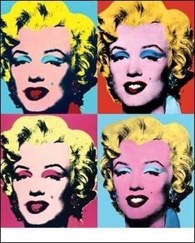 Quel représentant du Pop art est célèbre pour ses sérigraphies des années 1960 ?