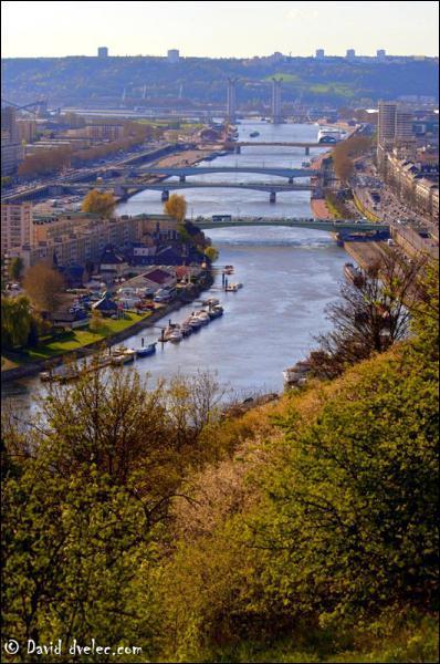 Quel grand fleuve forme des méandres (ou boucles) en Haute Normandie ?