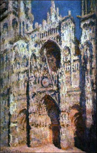 Quel peintre originaire du Havre a peint en série la cathédrale de Rouen ?