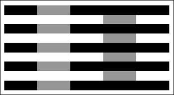 La nuance de gris à gauche est-elle plus claire que celle de droite ?