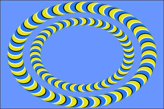 Regardez les deux ellipses. Que font-elles ?