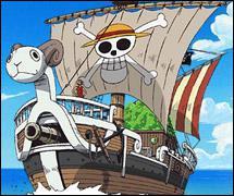 Le bateau de l'équipage de Chapeau de Paille s'appelle :