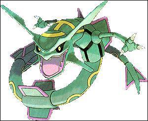 Rayquaza est un Pokémon de quel type ?