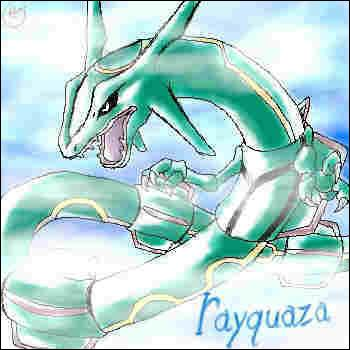Rayquaza est très sensible aux attaques de quel type ?