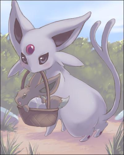 Mentali est un Pokémon de quel type ?
