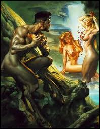 Quelles créatures de la mythologie gréco-romaine sont généralement reconnues pour leur comportement lubrique et libidineux ?