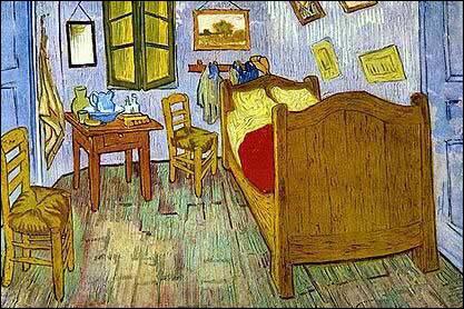 Selon la règle d'orthographe classique du Petit Robert, on peut dire de la chambre peinte par Vincent Van Gogh qu'elle est ...