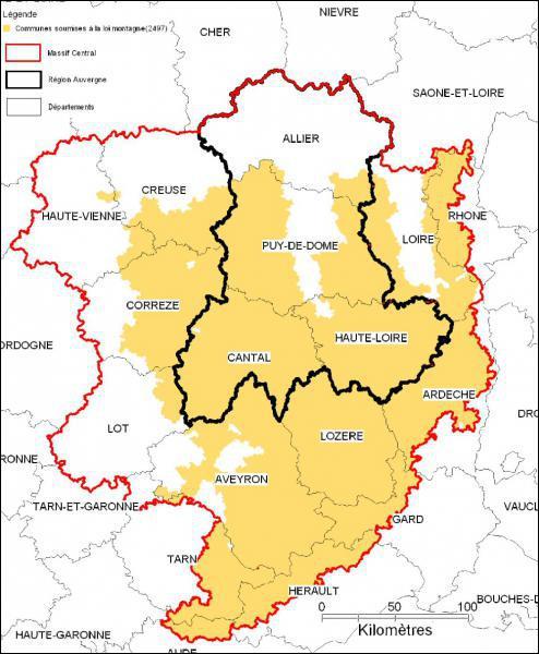 La région Midi-Pyrénées est couverte à 50% par la montagne. A part les Pyrnénées, quel autre massif montagneux s'y trouve ?
