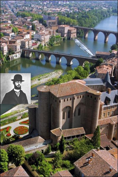 Quel peintre est né dans la ville d'Albi, qui possède aujourd'hui un musée en son honneur ?