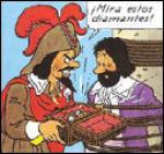 Dans les aventures de Tintin, quel est le nom de ce corsaire zurnommé ' Le Rouge' ?