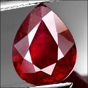 Quel est le nom de cette pierre précieuse rouge ?