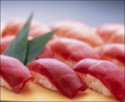 Quel est ce plat au thon rouge, particulièrement apprécié par les japonais ?