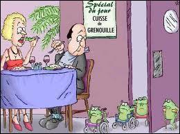 Que signifie l'expression 'manger la grenouille' ?