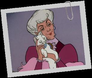 C'est la maitresse de la chatte de la question n°2 et des ses chatons.comment se nomme-t-elle ?