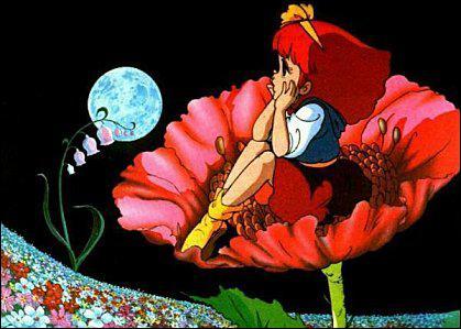 Les humains ont perdu leurs rêves, le 'pays imaginaire' qui faisait autrefois partie de notre planète s'en est détaché. Comment s'appelle ce monde merveilleux d'où vient la princesse magique ?