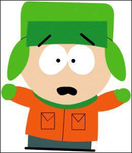 On ne le voit pas sur cette image mais ce personnage des South Park est bien roux. Comment se prénomme -t-il ?
