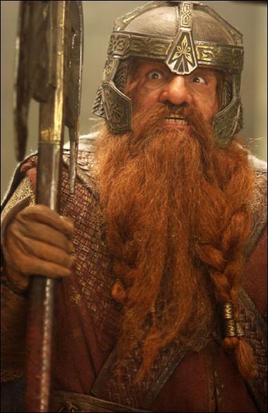 Comment se nomme ce maître nain dans la saga ' Le Seigneur des Anneaux' ?