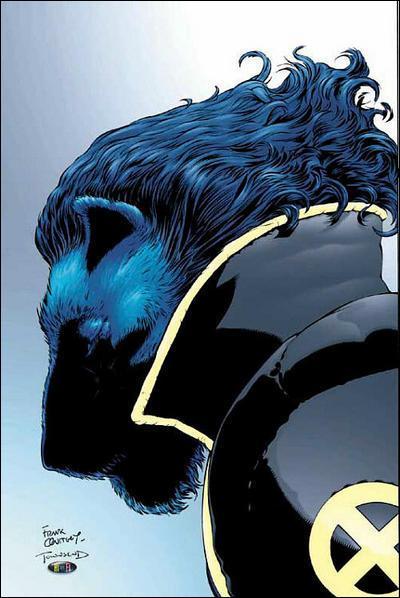Quel X-Man à la peau bleue et à l'aspect léonin prénommé Hank Mc Coy a été joué au cinéma par Nicholas Hoult (dans 'X-Men : le commencement') et par Kelsey Grammer (dans 'X-Men 3') ?