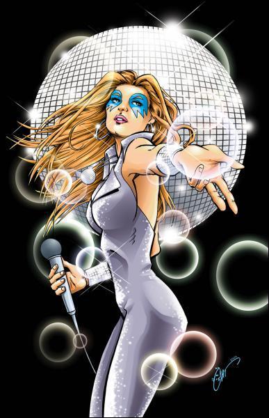 Quelle X-Woman prénommée Alison Blaire, capable de transformer le son en rayons de lumière, fut une star du disco ?