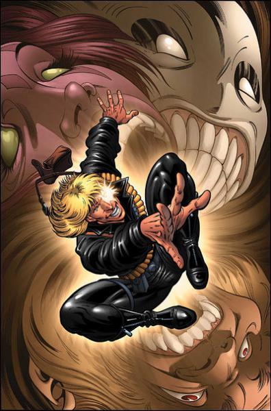 Quel X-Man, originaire du Mojoworld, possède un pouvoir sur la chance et a eu une relation amoureuse avec Dazzler ?