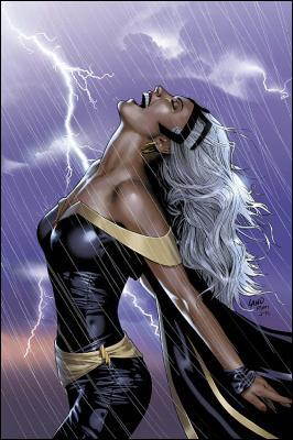 Née Ororo Munroe, quelle X-Woman maîtresse des éléments, interprétée par Halle Berry au cinéma, a épousé la Panthère Noire et est ainsi devenue reine du Wakanda ?