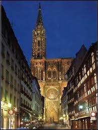 Célèbre pour ses saucisses, son marché de Noël sa cathédrale située sur les bords de l'Ill, il s'agit de :