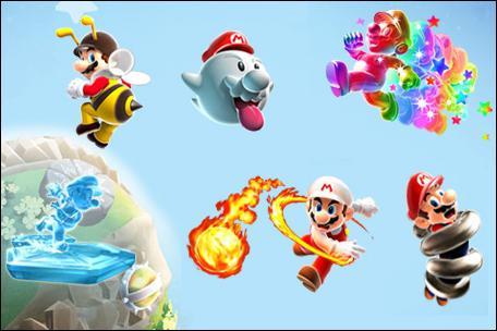 Le(s)quel(s) n'est/ne sont pas une des transformations de Mario ?