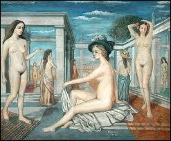 Qui a peint Les courtisanes ?