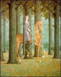 Qui a peint Promenade dans la forêt ?