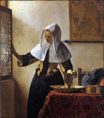 Qui a peint Jeune femme à l'aiguière ?