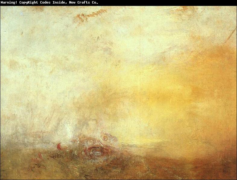 Qui a peint Le lever du soleil avec les monstres ?