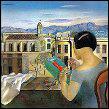 Qui a peint Femme à la fenêtre Figueras ?