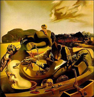Qui a peint Cannibalisme de l'automne ?