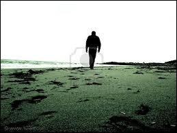 Il se promène en solitaire