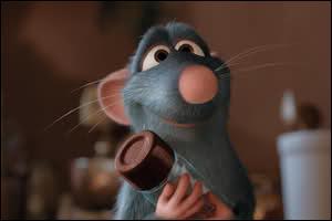 Héros du film ' Ratatouille' de Disney.