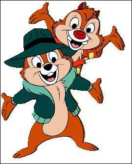Sous quels noms connaît-on mieux, ces deux écureuils issus du monde de Disney.