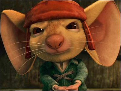 Comment se nomme cette petite souris aux grandes oreilles ? Le titre porte du film porte son nom, c'est ' La légende de ...