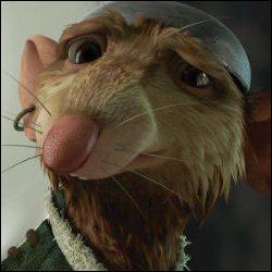 Ce rat rencontre la petite souris de la question 6, durant ses aventures. Quel est son nom ?